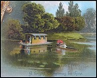 a house boat 